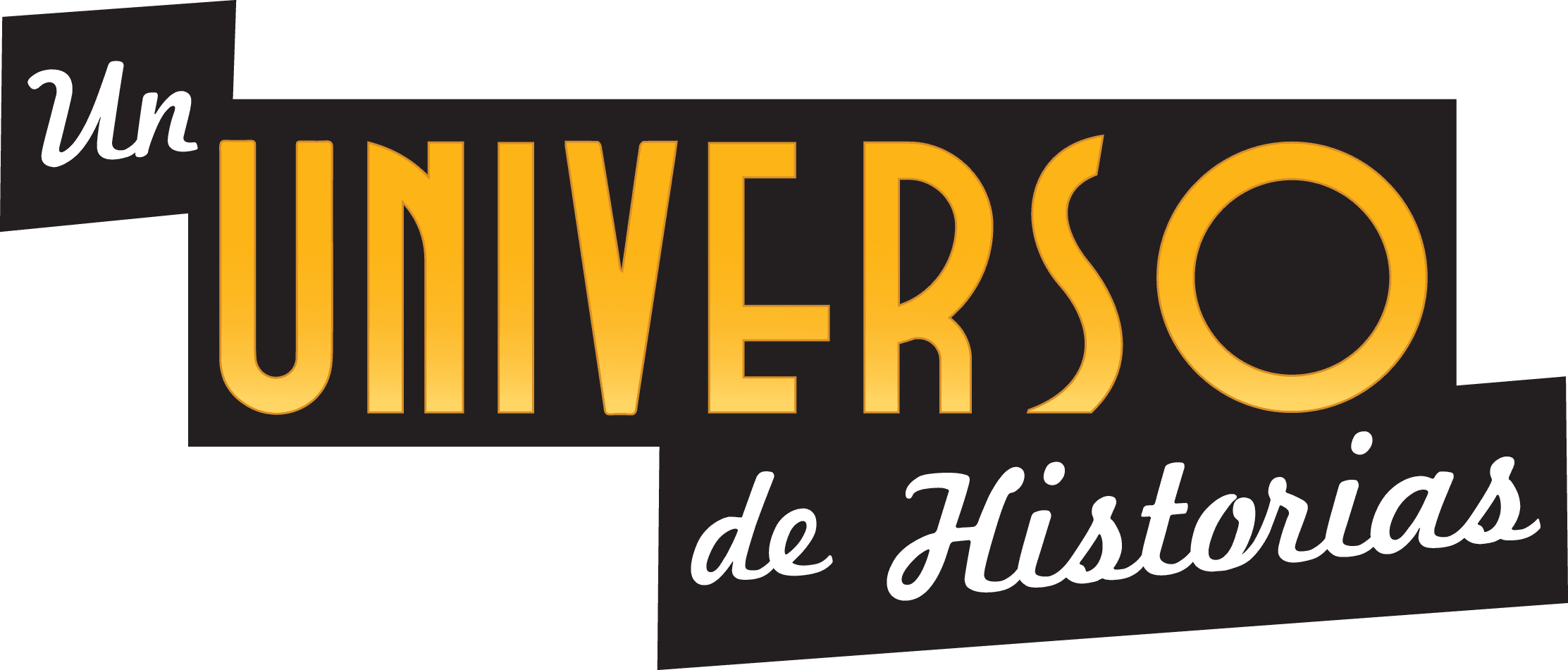 A Universe of Stories slogan in Spanish