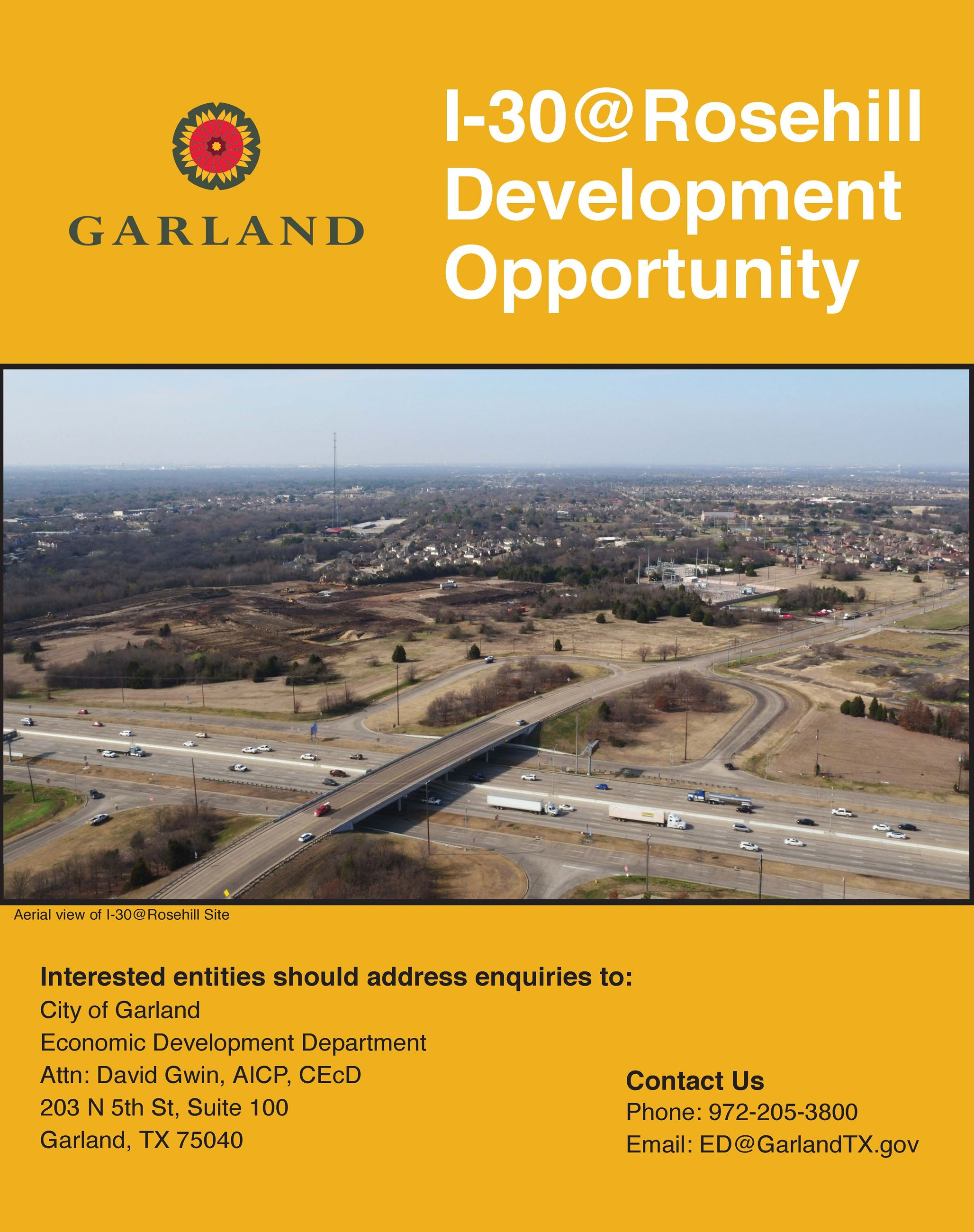 I-30 at Rosehill Development Opportunity